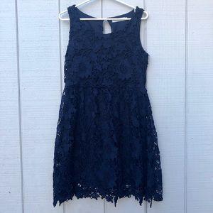 Solitaire by Ravi Khosla NavyBlue Sleeveless Dress